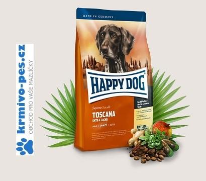 Happy Dog Supreme SensibleToscana Duck/Salman 4kg