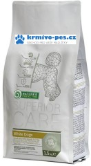 Nature's Protection Dog Dry Superior Adult White 400g