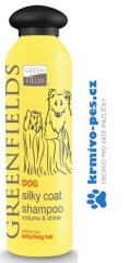 Greenfields šampon dog silky coat shampoo 250 ml