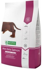 Nature's Protection Dog Dry Adult Mini Extra Salmon 500g + 500g