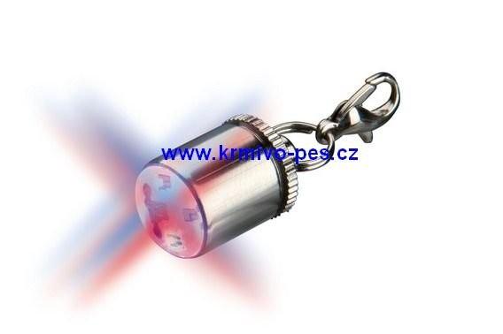 Světýlko na obojek Flasher blikací červené TR