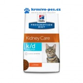 Hill's PD Feline K/D Early Stage Dry 5kg
