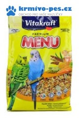 Vitakraft Bird krm. Menu vital honey budgie 500g