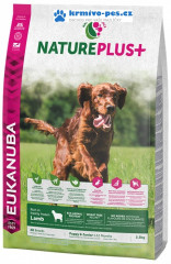 Eukanuba Nature Plus+ Puppy & Junior Rich in freshly frozen Lamb 2,30kg