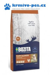 Bozita DOG Puppy & Junior Wheat Free 12,5kg