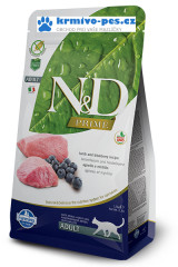 N&D PRIME CAT Adult Lamb & Blueberry 1,5kg + DOPRAVA ZDARMA