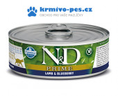 N&D CAT PRIME konzerva Adult Lamb & Blueberry 80g