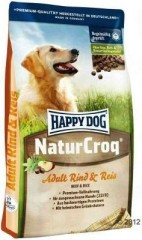 Happy Dog Natur Croq Rind&Rice 15kg + VIP Kupon