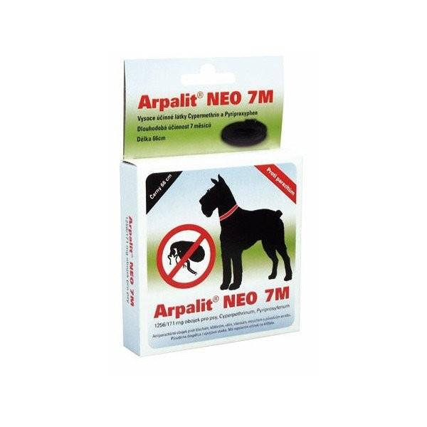 Antiparazitární obojek Arpalit Neo 7M Hnědý 66cm pes