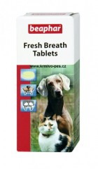 Beaphar Fresh Breath tablety pes a kočka40tbl