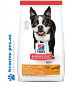 Hill's Science Plan Canine Adult Light Small & Mini Chicken 6kg NOVÝ + konzerva 400g