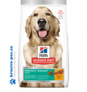 Hill's Science Plan Canine Adult Perfect Weight Large Breed Chicken 12kg NOVÝ