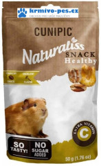 Cunipic Naturaliss snack Healthy Snack Vit C pro drobné savce 50g