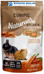Cunipic Naturaliss snack Multivitamin pro drobné savce 50g