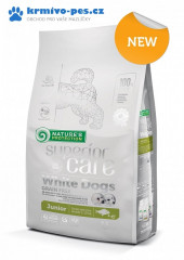 Nature's Protection Dog Dry Superior Care White Dog GF Junior White Fish SB 1,5kg