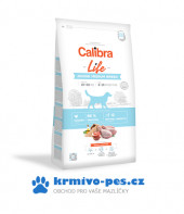 Calibra Dog Life Junior Medium Breed Chicken 12kg + uherská klobása s kolagenem 1ks + DOPRAVA ZDARMA