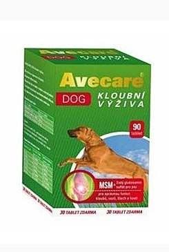 Avecare Dog kloubní výživa MSM+ glukosamin 90tbl pes