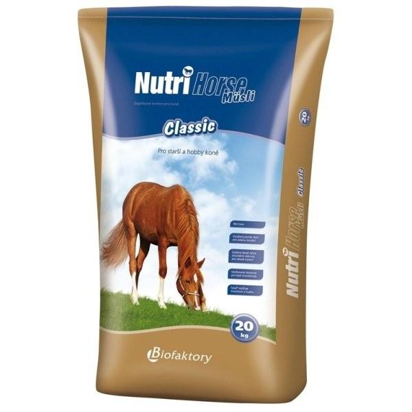 Nutri Horse Müsli Classic pro koně 20kg
