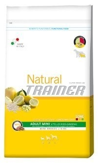 Trainer Natural Adult Mini Beef Rice Ginsen. 800g
