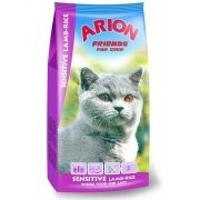 Arion Cat Sensitive Lamb Rice 15kg