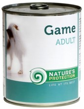 Nature's Protection Dog konz.Adult zvěřina 200g