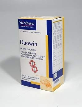 Duowin antiparazitární spray 250ml