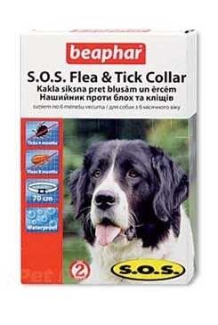 Beaphar Obojek antipar. pes SOS Flea & Tick 70 cm