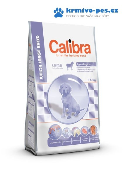 Calibra Junior Large Breed Lamb&Rice 15kg