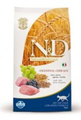 N&D Low Grain CAT Adult Lamb & Blueberry 1,5kg + VIP kupon 20,00Kč