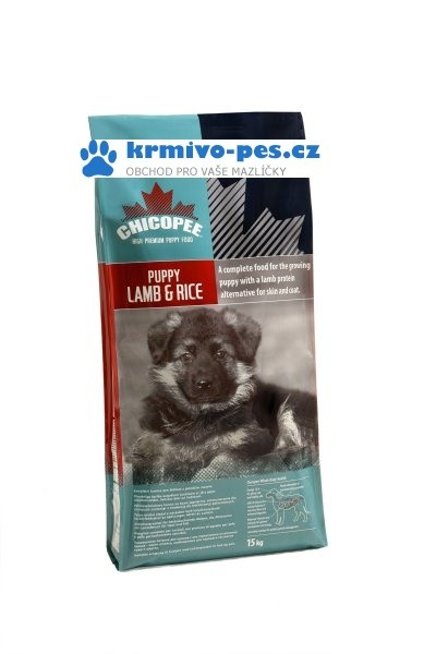 Chicopee pes Dry Puppy Lamb Rice 2kg