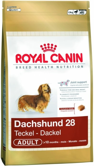 Royal canin Breed Jezevčík 7,5kg + zdarma vrhač na tenisový míč