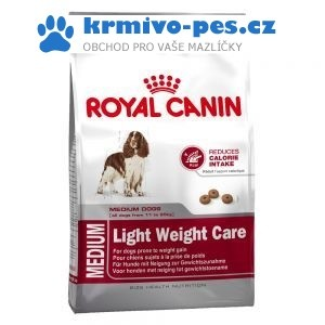 ROYAL CANIN kom. Medium Light weight care 13kg