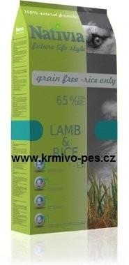 Nativia Dog Lamb&Rice 15kg
