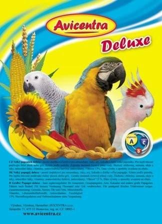 Avicentra Deluxe velký papoušek 850g