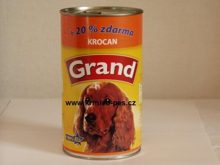 GRAND konz. pes krocaní 1300g