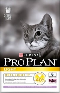 Proplan Cat Light Turkey&Rice 3kg