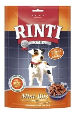 Rinti Dog pochoutka Extra Mini-Bits rajče+dýně 100g