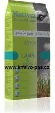Nativia Dog Lamb&Rice 15kg balení 2x15kg