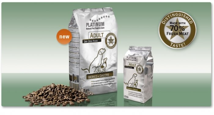 Platinum Adult Iberico+Greens 1,5kg