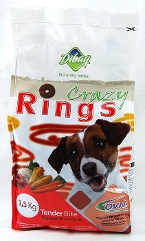 Dibaq Pochoutka Crazy Rings 1,5kg