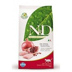 N&D GF Cat KITTEN Chicken & Pomegranate 300g