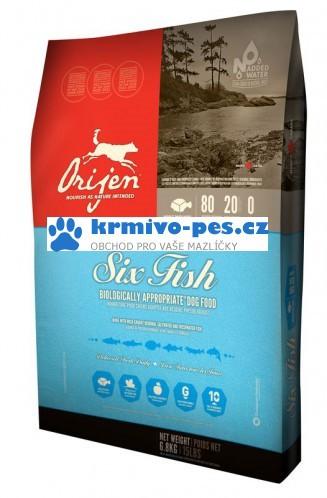 Orijen Cat 6 Fisch 6,8kg