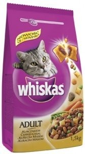 Whiskas Dry s kuřecím masem 1,4kg
