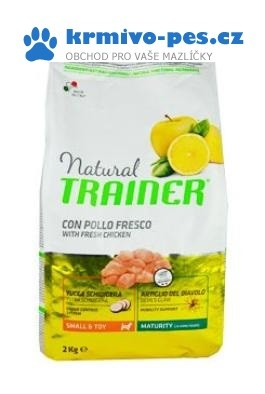 Trainer Natural Small Toy Maturity kuře 2kg