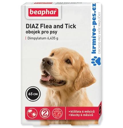 Beaphar Obojek antipar. pes DIAZ Flea & Tick 65 cm