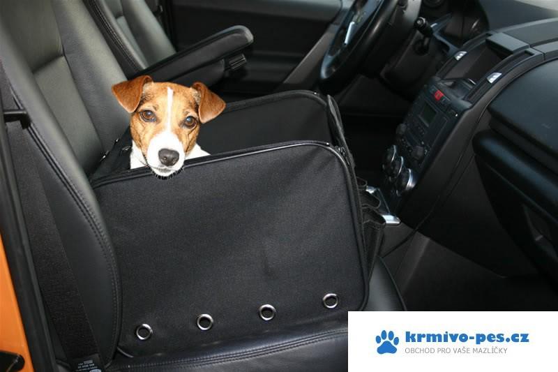 Box do auta pro psa GreenDog skládací 40x30x30cm