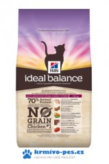 Hill's Feline Ideal Balance Adult Chicken&Potato No Grain 1,5kg