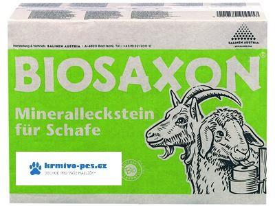 Biosaxon minerální liz pro kozy a ovce 4x4kg