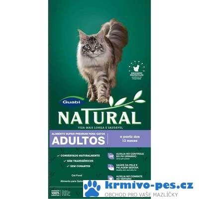 GUABI Natural Cat Adult 7,5kg (balení 2x7,5kg)