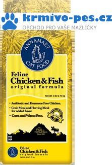 Annamaet Feline Chicken & Fish (kočka) 5,44 kg